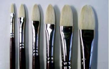 Picture of Brush Filbert Chunking 10