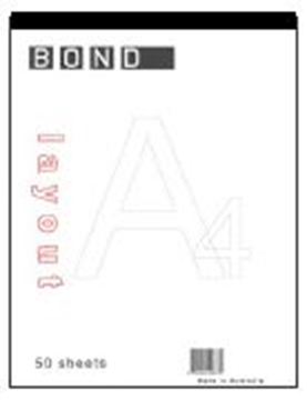 Picture of Pad Bond A4 50 Sheet