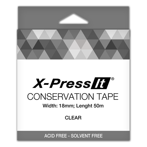 Picture of X-Press It Conservation Tape 18mm Clear
