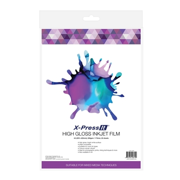 Picture of X-Press It High Gloss Inkjet Film A3 (20sht)