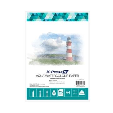 Picture of Aqua W/C Paper 300gsm A4 Pk of 25