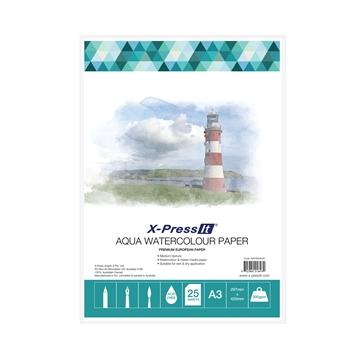 Picture of Aqua W/C Paper 300gsm A3 Pk of 25