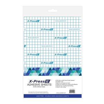 Picture of X-Press It Double Sided Tape Sheets A4 (5 Sheet Pack)