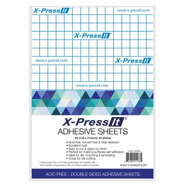 Picture of X-Press It Double Sided Tape Sheets A5