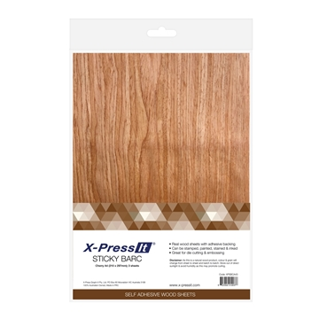 Picture of X-Press It Sticky Barc Cherry A4 3pk