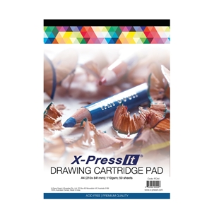 Picture for category Drawing Cartridge Pad 110gsm