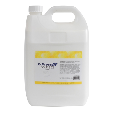 Picture of X-Press It Gold Size 5Lt
